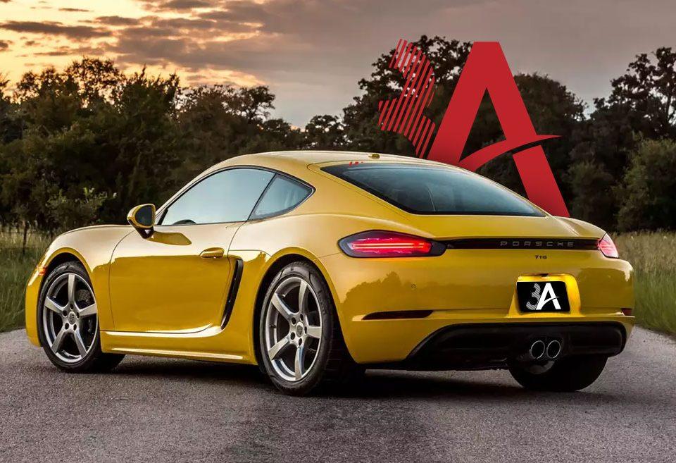 3A Porsche Garage | Cayman 2018 model